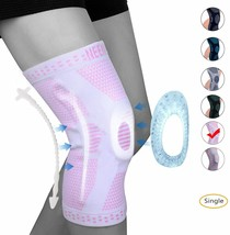 NEENCA Professional Knee Brace with Patella Gel Pads & Side Stabilizers, Size L