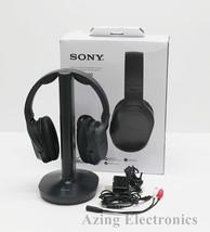 Sony WH-RF400 Wireless Home Theater Headphones - Black - $32.99