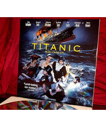 'TITANIC' - Very HTF 1996 All-Star Drama on Double Laser Disc Set, MINT - $44.95