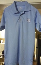 NCAA UNC Tarheels embroidered Team Logo (S) SS Polo Polyester College Shirt - $14.99