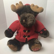 "Dan Dee Collectors Choice 25"" Moose Plush 10th Anniversary Large - $19.79"