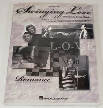 Swinging Love 49 Romantic Swing Classics Music Book ~ Piano, Vocal & Guitar - $14.99
