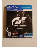 Gran Turismo Sport: Limited Edition (Sony PlayStation 4, 2016) Racing Game - $14.69
