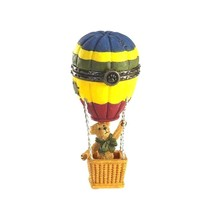 "Boyds Treasure Box ""Ellie's Up & Away Balloon w/Skye McBibble"" #4016642-... - $24.99"