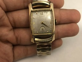 Vintage Hamilton Baxter 10KT Yellow Gold Filled Manual Wind Wrist Watch ... - $94.05