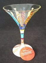"Lolita Martini Glass Not Another Necktie New No Box 7"" H Fathers Day Idea! - $19.79"