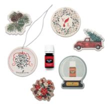 Young Living Seasons Greetings Set - Christmas Spirit & Air Fresheners 6... - $21.73