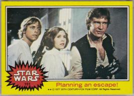 1977 Topps Star Wars Yellow #151 Planning An Escape! > Luke > Han > Lei - €1,08 EUR