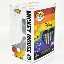 Funko Pop! Disney Pride 2021 Rainbow Mickey Mouse #01 Figure image 3
