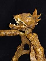 """HUGE 20"""" Dragon Statue Medieval sculpture Real gemstones snake scepter S... - $485.00"""