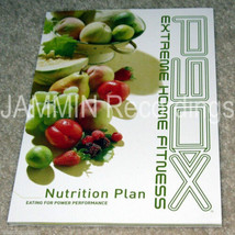 P90X NUTRITION PLAN GUIDE - COOKBOOK RECIPES AUTHENTIC NO DVDs - $41.32