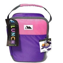 Arctic Zone Insulated Lunch Box Zipperless Lid Built-In Lunch Tray - No ... - $14.84