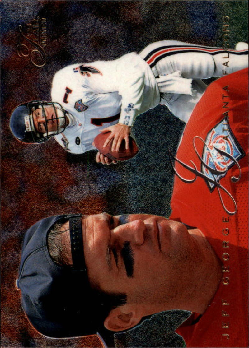 Primary image for 1995 Fleer Flair Preview #2 Jeff George NM-MT Falcons