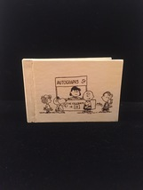 Vintage Peanuts Kids autograph book - unused and in great shape