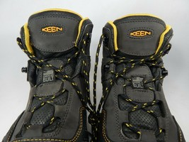 Keen Logandale Size: 13 M (D) EU 47 Men's WP Steel Toe Work Boots Black 1017828