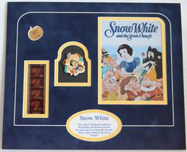Snow White Seven Dwarfs Pin 35 mm film unique cels Authenticity Disney rare - $92.25