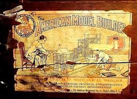 Erector Set American Model Builder No. 4 AA18-1303 Vintage image 2