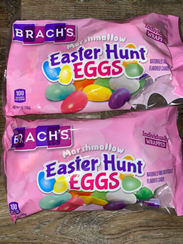 Primary image for Brach's ~ Marshmallow Easter Hunt Eggs Candy 2-Bags 7 Oz. ~ Expires 08/2020
