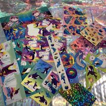 90s Lisa Frank Stickers Stationery Lot Dolphins Max Whale Penguins Roary Seal image 7