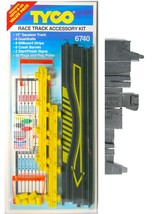 1pc 1993 Tyco Slot Car Track Race Track Squeeze Flag Accessory Kit Carded 6740 - $9.89