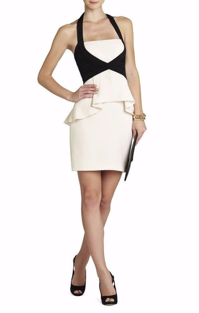 AUTH NEW BCBG Max Azria Kirsi Halter Ponte Dress $338 - $65.00