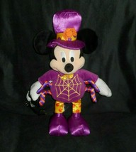 "16"" Disney Store Mickey Mouse Araña Halloween Relleno Animal Peluche - $17.55"