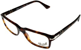 Persol Prescription Eyeglasses Frame Unisex Rectangular Brown Havana PO3130V 24  - $147.51