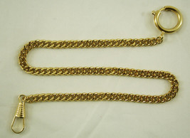 1  POCKET WATCH CHAINS STAINLESS CLASP  RING CLIP NEW - $13.95