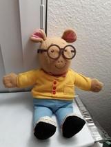 "Working 1996 Playskool Vintage Talking Arthur Plush Toy Doll 18"" Tall - $22.74"