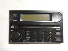02-04 Nissan Frontier Xterra Radio Cd Face Plate Replacement & Knob CY64... - $13.37
