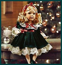 little gillian doll darling all dressed up 4 the holidays but no where t... - $38.61
