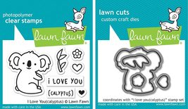 I Love You (Calyptus) Stamp & Die set. Koala. CLEARANCE