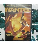 DVD Wanted James McAvoy Morgan Freemen Angelina Jolie Widescreen - $1.99