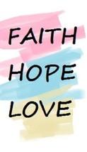 Faith Hope Love Magnet #4 - $7.99