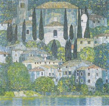 """Gustav Klimt """"Chruch in Cassone"""" HD print on canvas huge wall picture 24... - $24.74"""