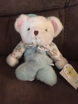 Vintage Carter's Musical Teddy Bear Crib Pull Baby Stuffed Animal Plush Toy New! - $56.06