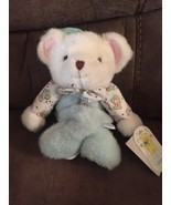 VINTAGE CARTER'S MUSICAL TEDDY BEAR CRIB PULL BABY STUFFED ANIMAL PLUSH ... - $56.06