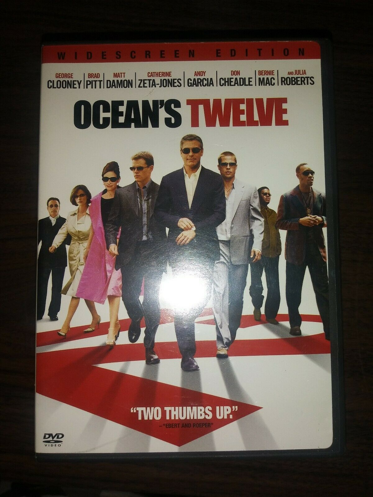 Primary image for Oceans Twelve (DVD, 2005, Widescreen)