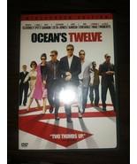 Oceans Twelve (DVD, 2005, Widescreen) - $0.99