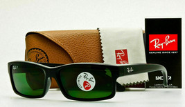 Ray Ban POLARIZED Sunglasses RB4151 601/2P Glossy Black W/ Classic Grey-Green - $78.99