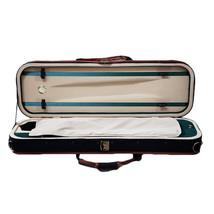 New Violin 4/4 Full Size Oblong Case Lightweight Black/Khaki - $69.99