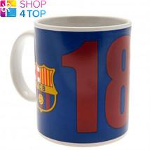 FC BARCELONA CERAMIC MUG CUP SN COFFEE OFFICIAL FOOTBALL SOCCER CLUB TEA... - $13.35