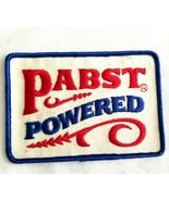 VTG Embroidered Pabst Powered Patch Pabst Blue Ribbon Beer Brewing Co Ad... - $11.03