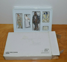 STAR WARS EARLY BIRD ACTION FIGURE SET 2005 HASBRO LUKE SKYWALKER PRINCE... - $15.86