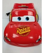 Disney Cars Red CD Boombox AM FM Radio Speakers Lightning McQueen Pixar ... - $59.99