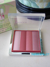 NIB Fullsize Clinique Shimmering Stripes Powder Blusher in CABANA PINK - $38.60