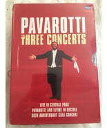 Pavorotti The Three Concerts 3 DVD Set - $99.95