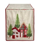 Nantucket Home Handmade Plaid House Winter Table Runner, 72-Inch - $19.11