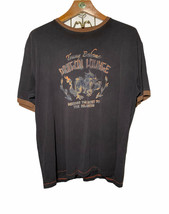 Tommy Bahama Dragon Lounge Secret to True Relaxation Ringer T Shirt Mens XL - $24.91