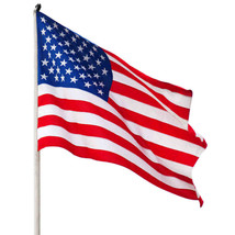 "1pcs New Arrival Jumbo 3""x5"" American Flag USA US FT Polyester Be Proud&... - $10.60"